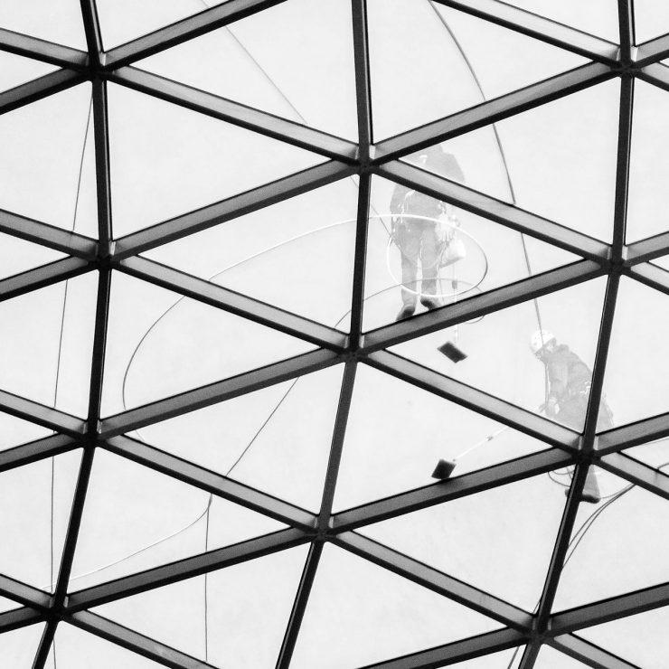 Bordeaux Services et Propreté - Nettoyage de vitres toutes hauteurs, dômes en verre, verrières