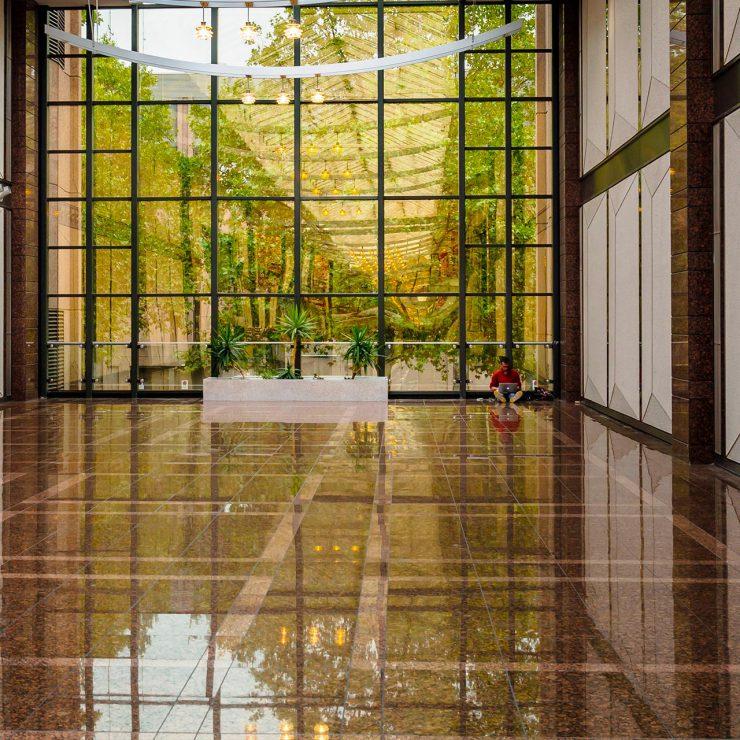 Bordeaux Services et Propreté - Cristallisation des sols en marbre